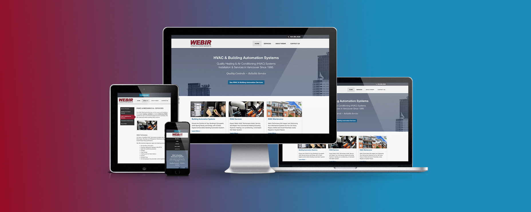 Webir Website Featured Image