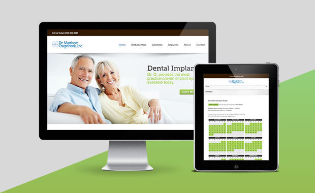 Website Portfolio Item - Dental Website Design & SEO